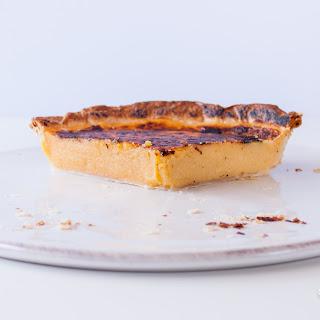 Giant Portuguese Custard Tart | Pastel de Nata Gigante