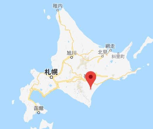 地図:道の駅忠類