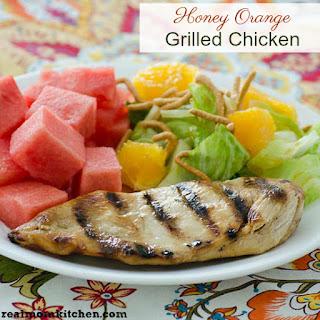 Honey Orange Grilled Chicken Recipe