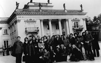 Photo: październik 1975 r. Warszawa Łazienki, kl. 5 a, b, Z. Krawczyk, J. Podołowski, L. Maciejko