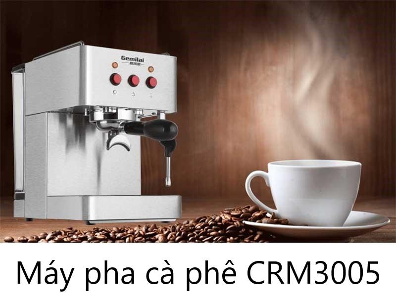 Máy pha cà phê Espresso, latte Gemilai CRM3005 - ảnh 1