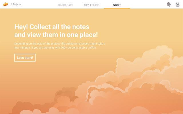 Notes – Organize your Zeplin Comments