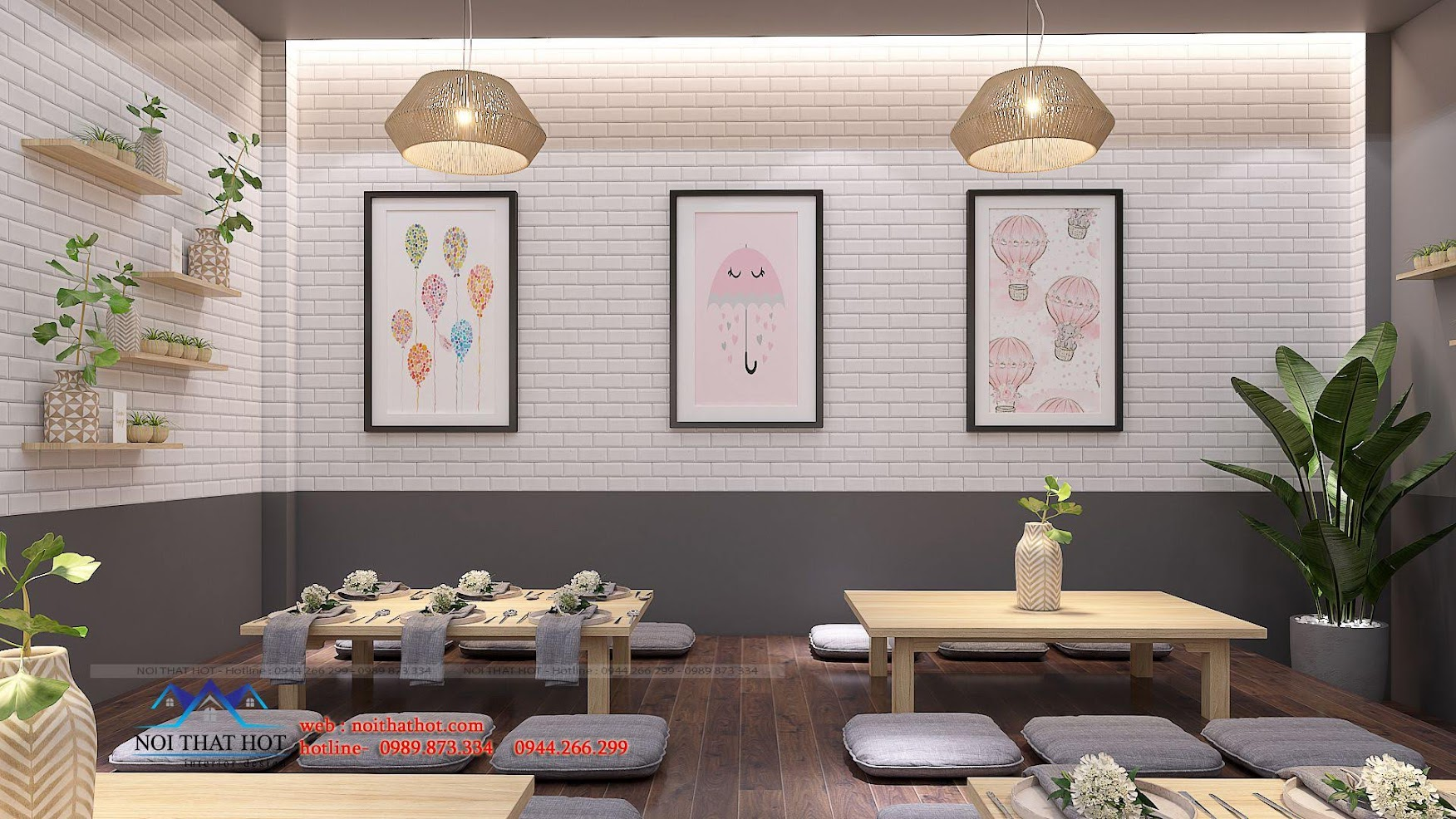 thiết kế nhà hàng trường giang 17