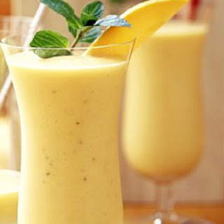 Pineapple Papaya Smoothie