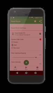 Read Mode App - náhled