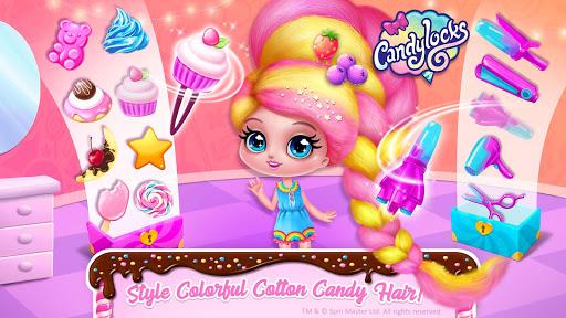 Candylocks Hair Salon - Style Cotton Candy Hair  Wallpaper 6