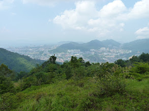 Photo: George Town, Penang - hiking to Penang hill, view over city