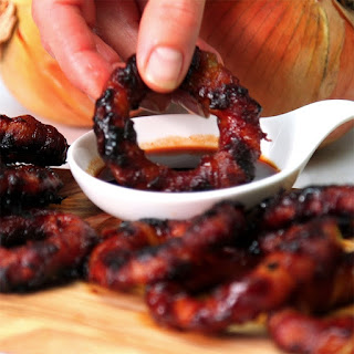 Sriracha Bacon Onion Rings