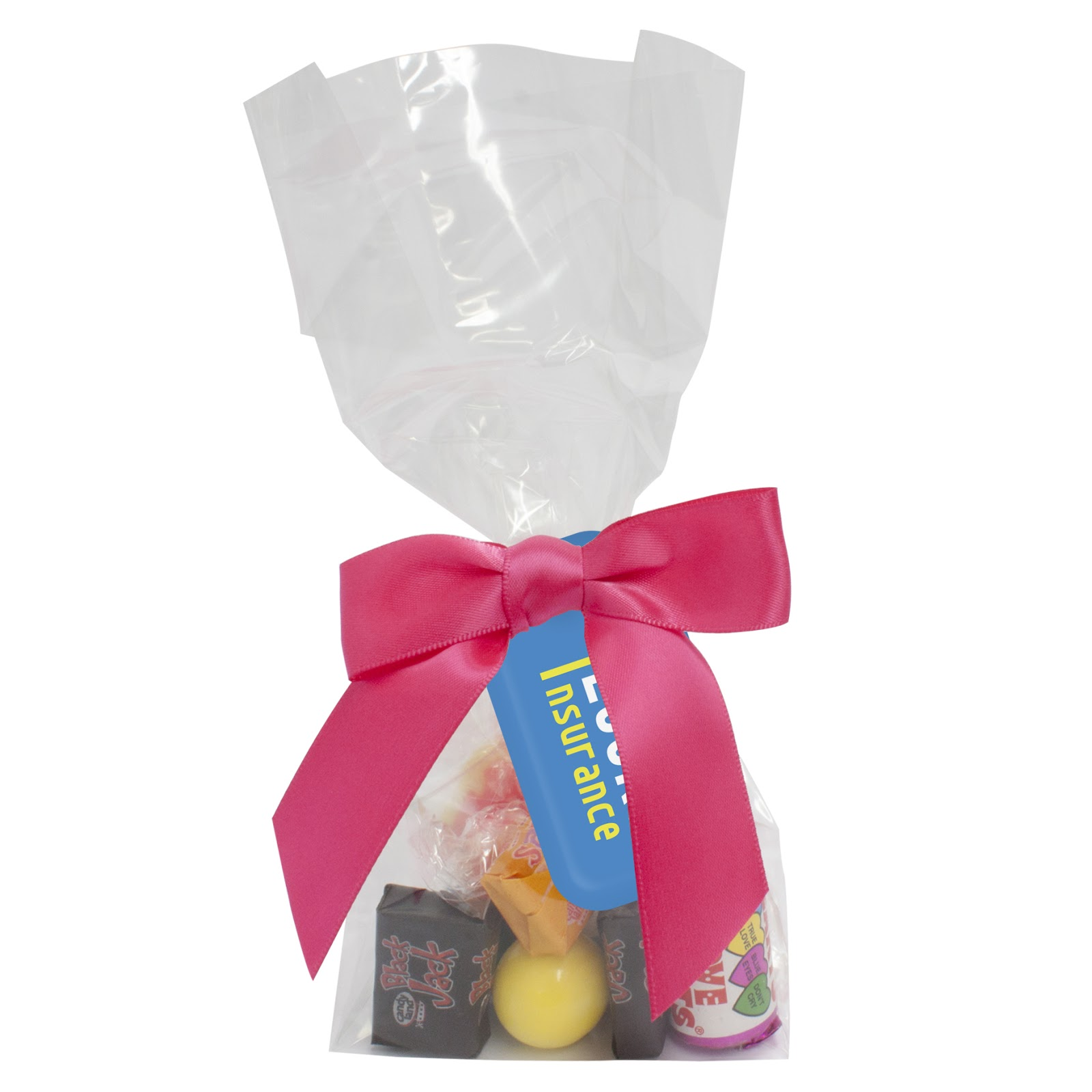 Sweet Filled Gift Bags with Printed Labels