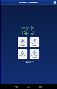 <p>CalWIN is a group of 18 California Counties that provides Health Human Services for county residents. Services include cash aid, food and nutrition assistance and medical services. </p><p>The Mobile application allows you to check your current benefits