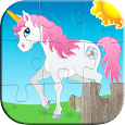 Kids Animals Jigsaw Puzzles 😄 apk