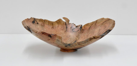 "Photo: Richard Webster - Bowl - 12"" x 4"" - Manzanita Burl"