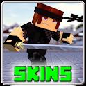 Ninja Skins for Minecraft PE icon