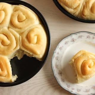 Buttery Sourdough Rolls.