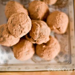Deep Dark Chocolate Truffles.