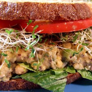 Chickpea 'Tuna' Salad Sandwich [V, GF]