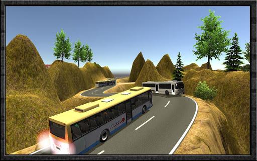 ドライブ オフ 道路 観光客 バス