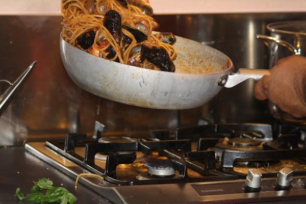 spaghetti al salto di amaranto21