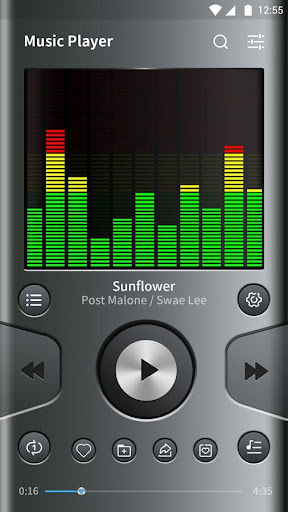 Music Player - Audio Player, EQ & Bass Booster
