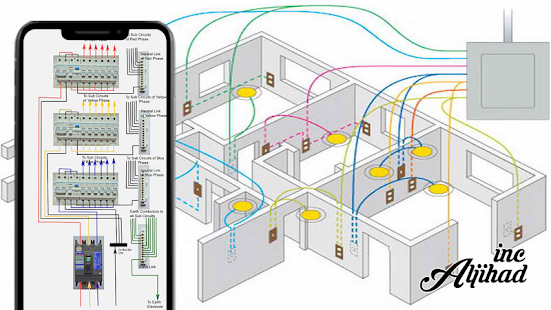 electrical circuit diagram house wiring for pc / windows 7