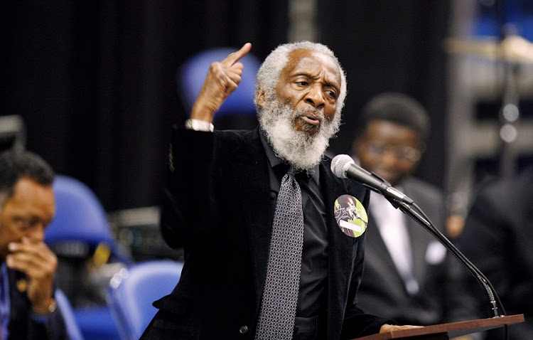Activist Dick Gregory. File picture: REUTERS/ LUCAS JACKSON