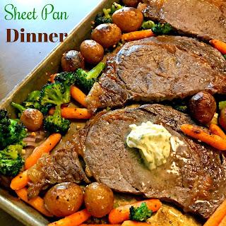 Steak Sheet Pan Dinner.