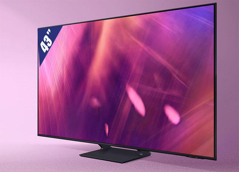 Smart Tivi Samsung 4K UHD 43 inch UA43AU9000KXXV   Khung hiình rực rỡ