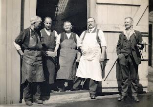 Photo: Leneys Brewery Wateringbury May 1933