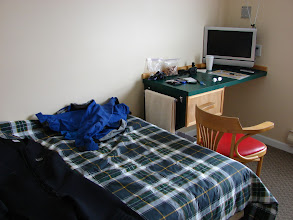 Photo: A room in the Shearwater Hotel.
