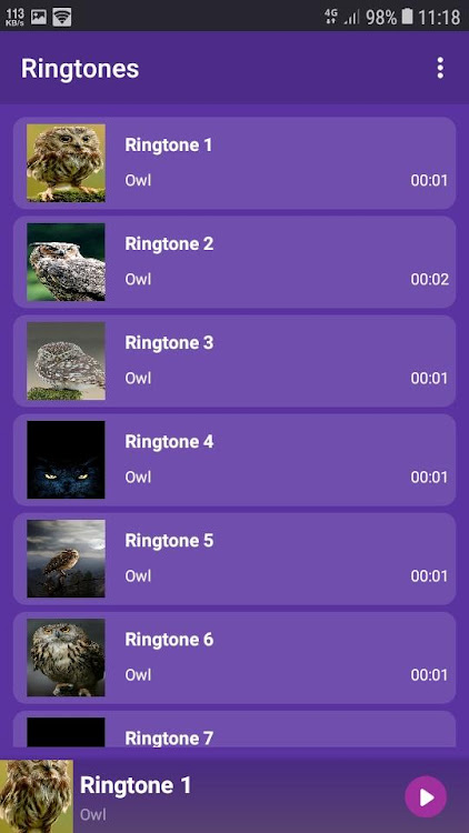 Owl Ringtones And Wallpapers Android Apps Appagg