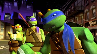 Ein Turtle in Rage