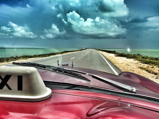 El Pedraplén, Cuba di Eduz1966