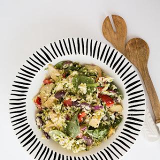 Spinach Artichoke Orzo Salad Recipes
