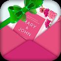 Digital Invitation Ecard Maker - Invitation Card icon