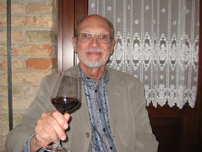 Photo: A toast to Italian food and wine.