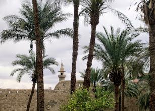 Photo: Aqaban linnoitusta, ulkoapäin - remontin takia sisälle ei päässyt