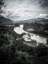 Photo: Cave opening overlooking Nam Song River, Laos Adventures with a Budget Camera - Lr edit