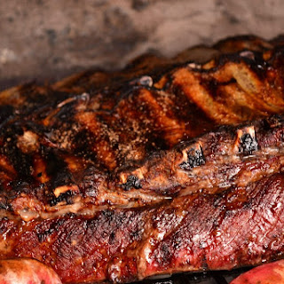 Succulent Slow Cooked Spare Ribs.