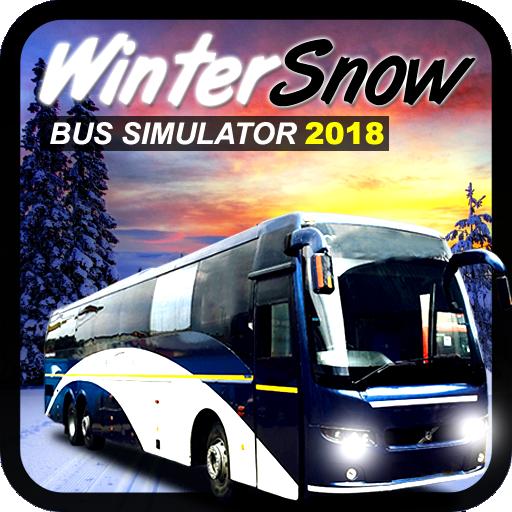 Winter Snow Bus Simulator 2018