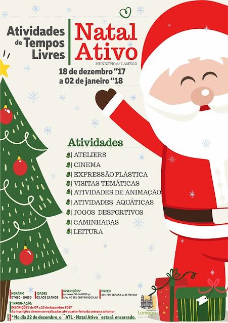Câmara de Lamego ocupa tempos livres com Natal Ativo
