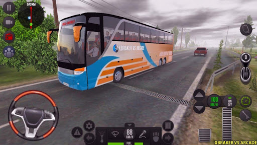 Modern Bus Simulator Drive 3D: New Bus Games Free screenshots 4