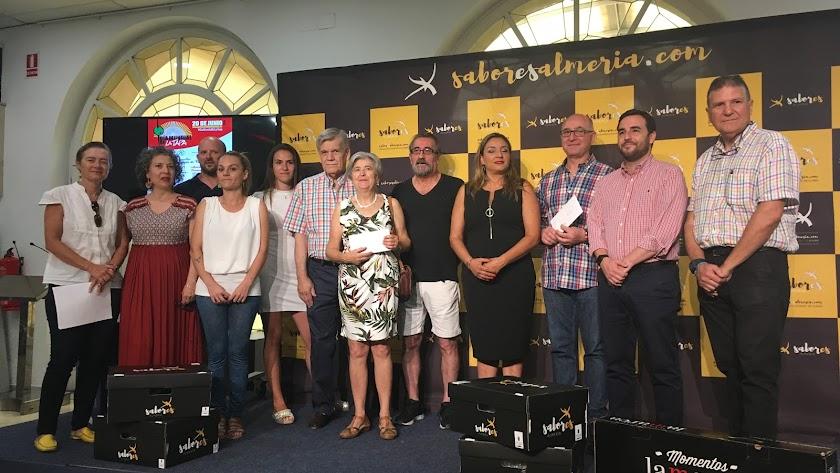 Premiados del día mundial de la tapa 2019.