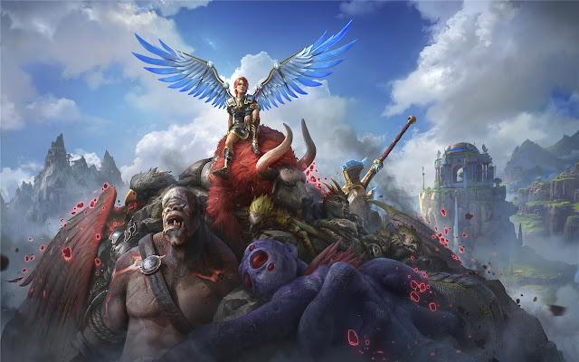Immortals Fenyx Rising Themes & New Tab