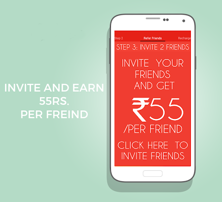 Free Recharge App - Earn 250Rs 0.9 screenshot 513302