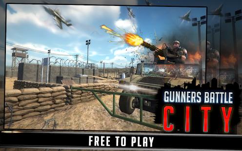 Gunner Battle City v1.0 Apk – Android Games
