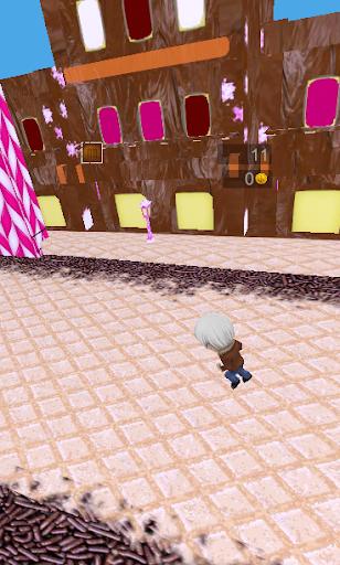 3Dエンドレス:お菓子の世界ラン