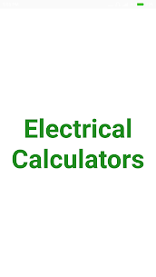 Electrical Calculator App Download For Android 1