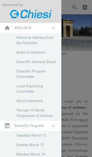 XXIII World Congress of Asthma- screenshot thumbnail