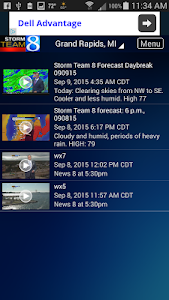 Storm Team 8 - WOODTV8 Weather screenshot 3