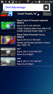 Storm Team 8 - WOODTV8 Weather- screenshot thumbnail